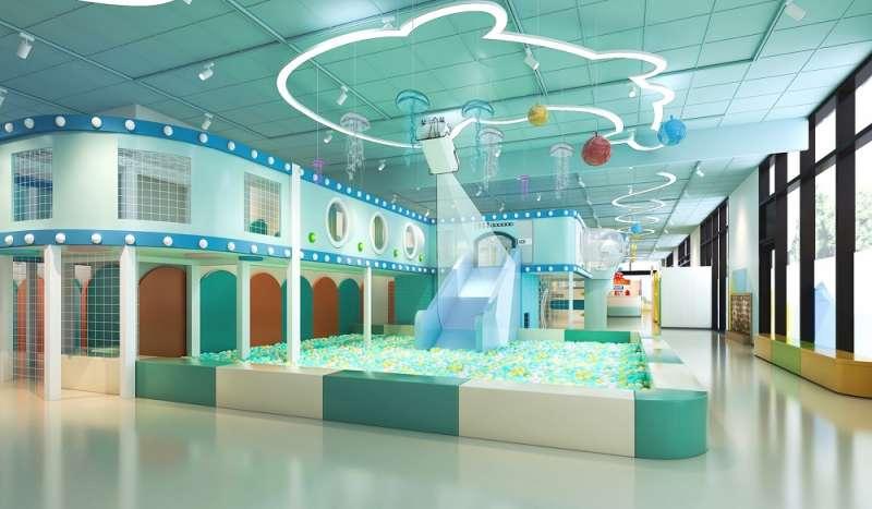 五大場區,設置多樣遊樂設施及互動體驗遊戲。(國泰飯店觀光事業提供)