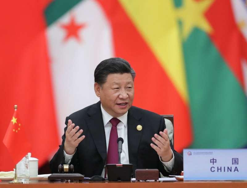 習近平表態中國考慮加入CPTPP,對美國新政府形成一股競合壓力。(翻攝自China Xinhua News Twitter)