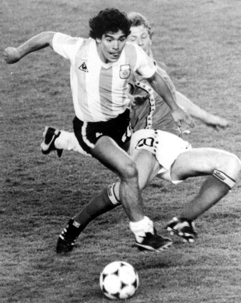 阿根廷足球巨星馬拉度納(Diego Maradona)(AP)