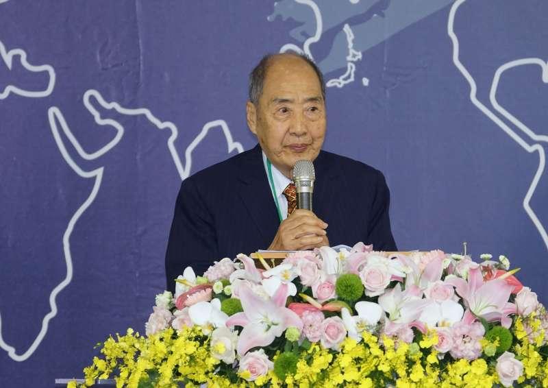20201205-政治受難者張則周5日出席世界人權日典禮。(盧逸峰攝)