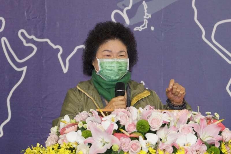 20201205-監察院長陳菊5日出席世界人權日典禮。(盧逸峰攝)