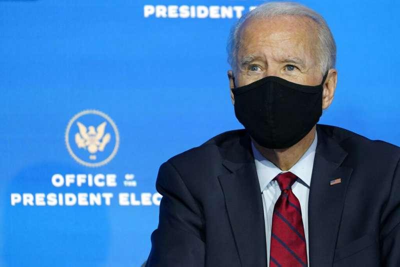 美國候任總統拜登。(美聯社)