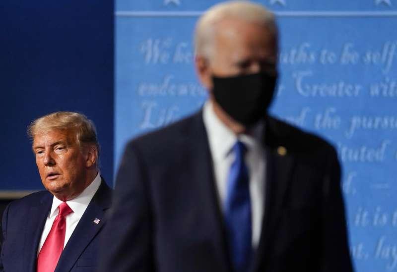 2020年美國總統大選拜登勝出,川普卻拒絕認輸(AP)