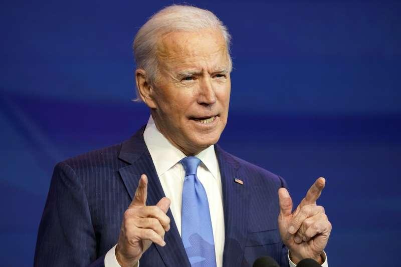 《時代》2020年度風雲人物:將成為美國總統的拜登(AP)
