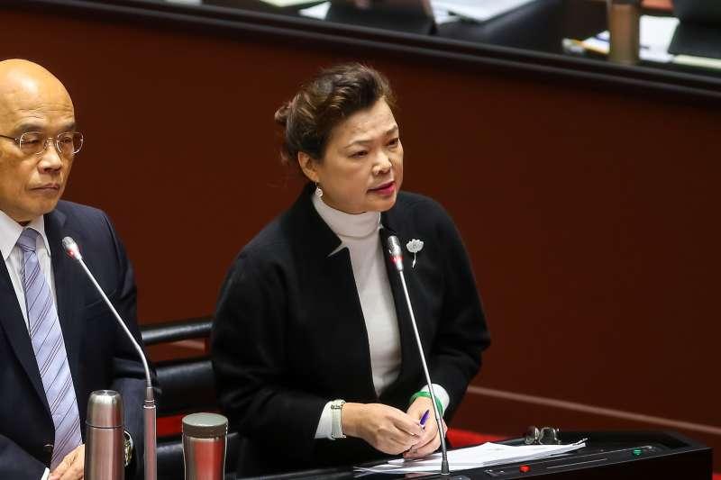 20201215-經濟部長王美花15日於立院備詢。(顏麟宇攝)