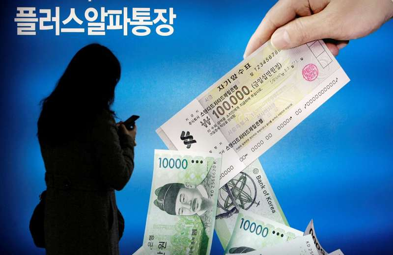 韓國中小企業受類TRF的衍生性金融商品KIKO影響,損失慘重。(美聯社)