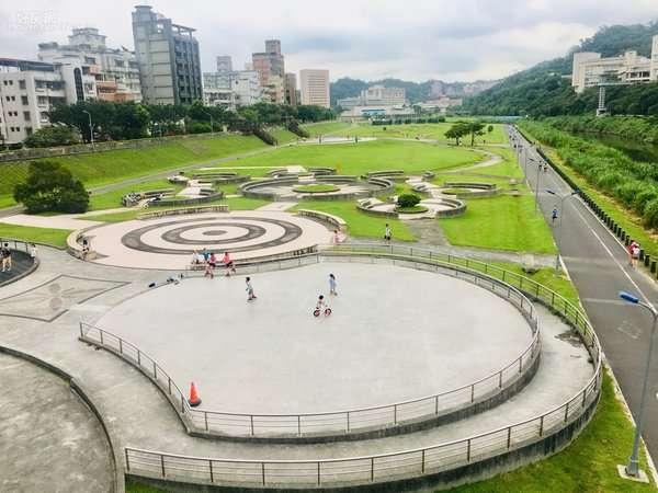 文山區道南河濱公園。(圖/好房網News提供)