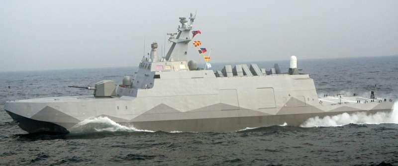 20201217-沱江級飛彈巡邏艦沱江艦(資料照,蘇仲泓攝)