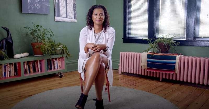美國教育機構BRAVEN負責人Aimée Eubanks Davis。(圖/TED)