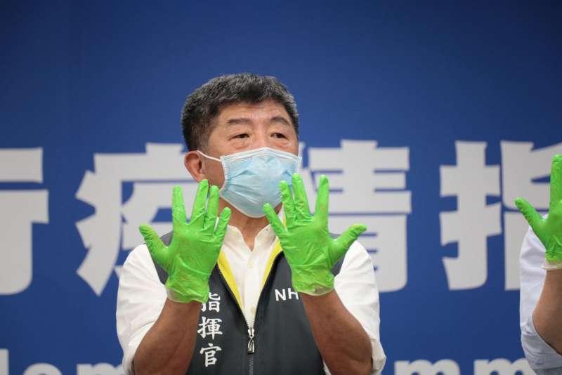 台灣抗疫有成,中央流行疫情指揮中心指揮官陳時中每日召開記者會更新疫情資訊功不可沒。(中央流行疫情指揮中心提供)