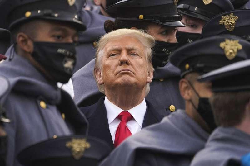 得票比上屆多出一千多萬票的川普拒絕承認敗選,讓美國大選進入法律戰延長賽。(美聯社)