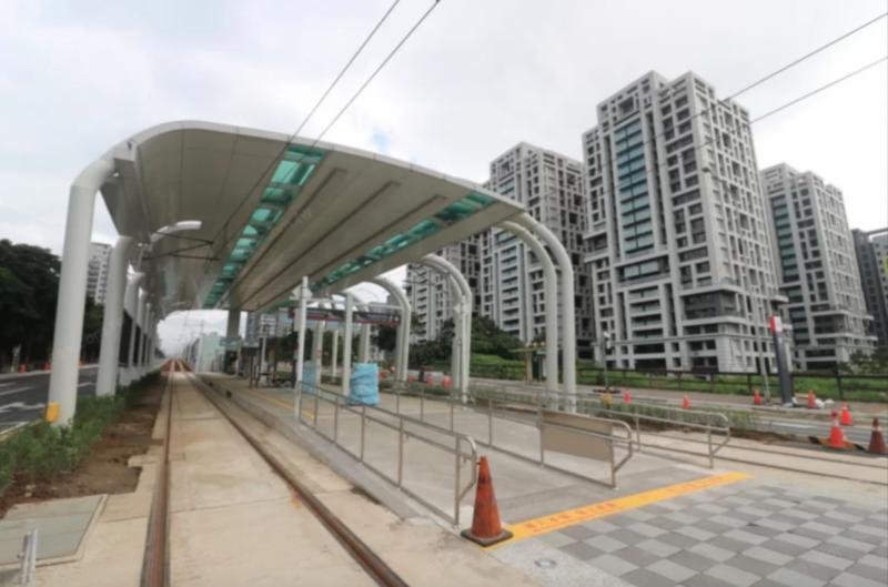 淡海輕軌為周邊淡海新市鎮提升交通機能。(圖/591房屋交易網)