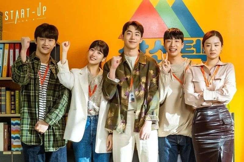 劇中除了常見的愛情、親情、友情元素,也能對新創有更多新的認識。(圖/tvN 드라마(Drama) 粉專)