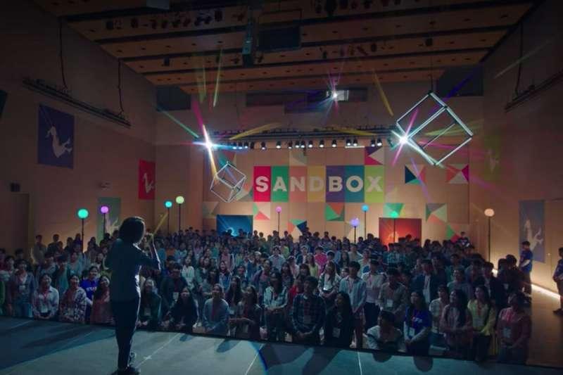 Sandbox為劇中培養、協助角色們創業的重要創投公司。(圖/tvN 드라마(Drama) 粉專)