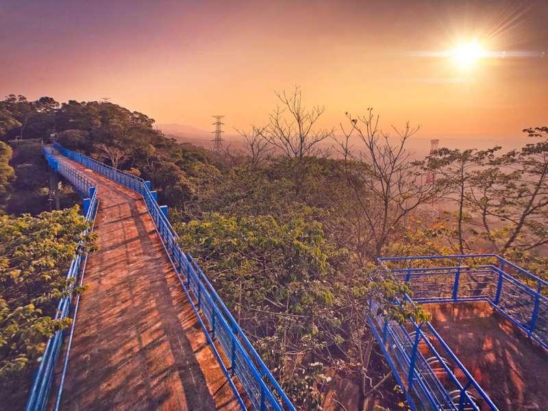銅鑼必去景點推薦-九華山天空步道。 (圖/yuntin888, Instagram)