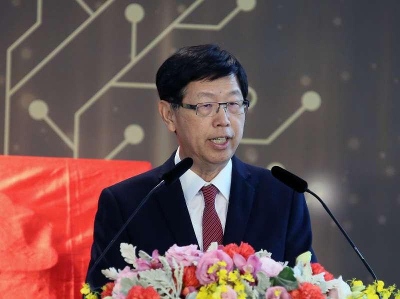 20210104-鴻海集團董事長劉揚偉。(柯承惠攝)