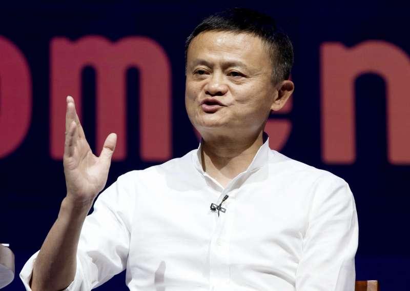 馬雲和台灣金融業關係一向密切。(美聯社)