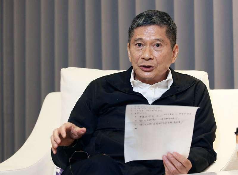 李永得認為,陸書來台規範不是思想審查,而是民主防衛機制的體現。(柯承惠攝)