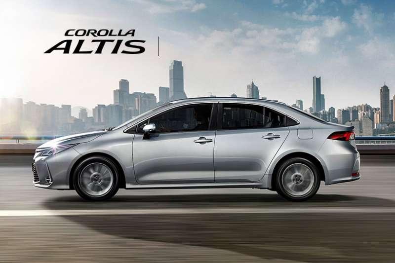 你買車也非常有可能會考慮的選項之一:Toyota Altis。(圖/慢活夫妻投資理財提供)