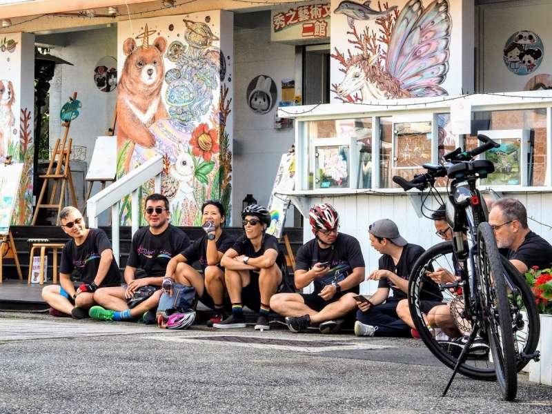 亞洲彩虹騎行活動讓更多走出來的LGBT,找到了一起努力的夥伴。