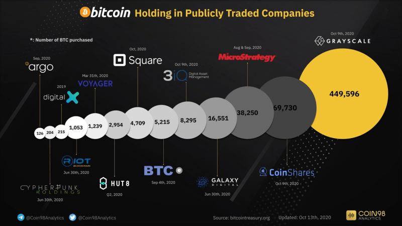 持有比特幣的企業(圖片來源:bitcointreasury.org)