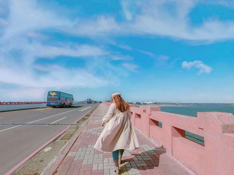 2020國片取景地推薦-台南四草大橋。 (圖/eu_0420, Instagram)