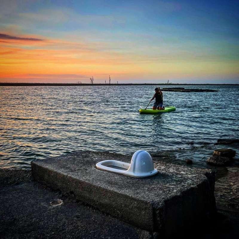 2020國片取景地推薦-嘉義白水湖壽島。 (圖/outdoorboyzattw, Instagram)