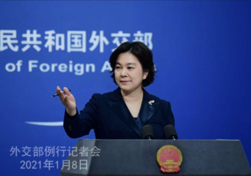 中國外交部發言人華春瑩。(中國外交部官網)