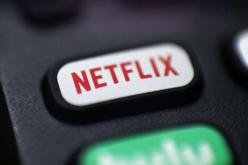 Netflix。(美聯社)