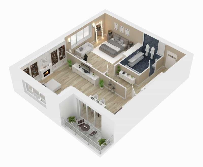 20210122-挑選格局方正、室內沒有樑柱的為佳,避免小坪數的空間再被吃掉。(21世紀不動產提供)