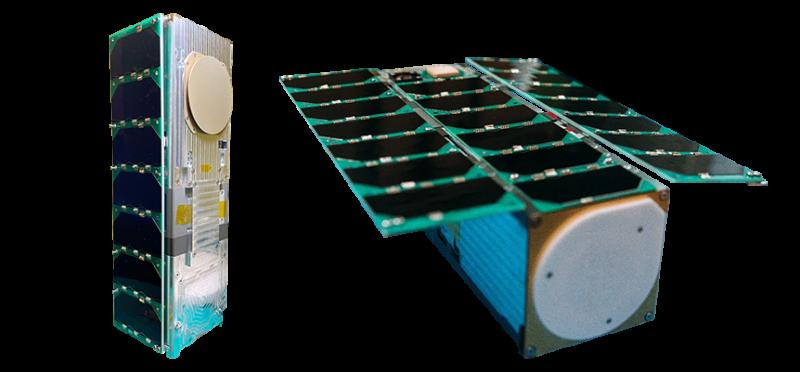 20210123-由國立中央大學研製的立方衛星「飛鼠」。(取自國家太空中心網站)