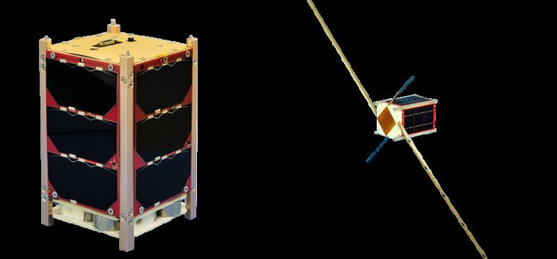 20210123-由騰暉等公司研製的衛星「玉山」,酬載是自動識別系統(AIS)和自動封包回報系統(APRS)接收器。(取自國家太空中心)