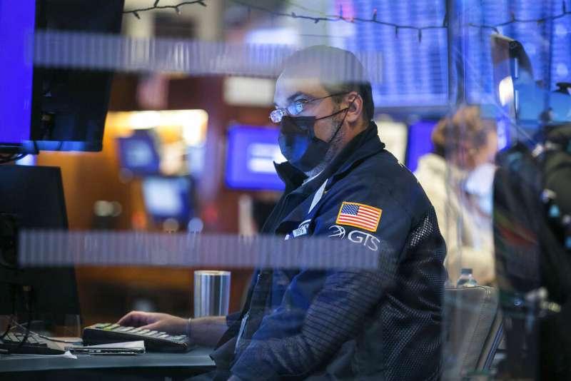 華爾街、美股、美國股市。(AP)