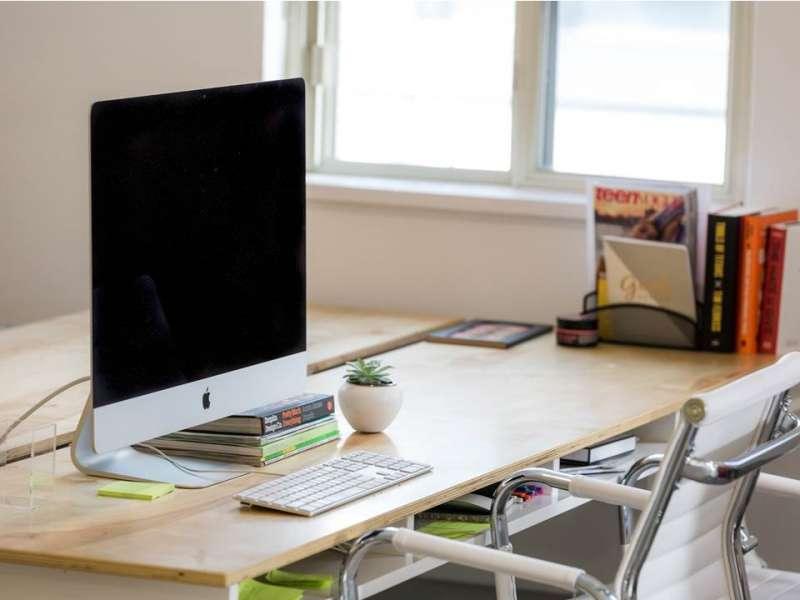 給自己一個乾淨的辦公桌面吧!(圖/職場熊報提供)