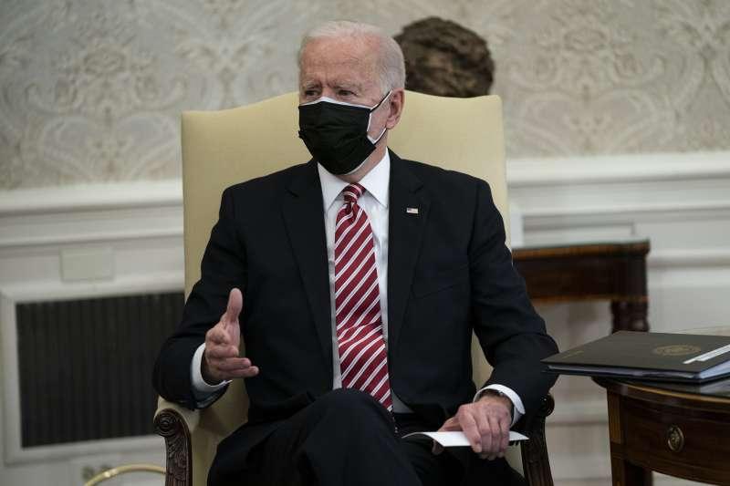 美國總統拜登(AP)