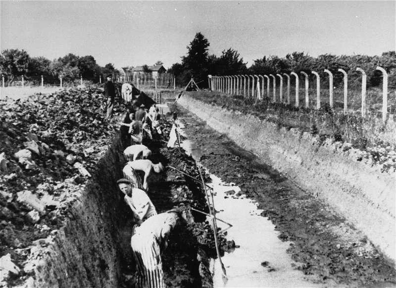德國漢堡附近的諾因加默(Neuengamme)集中營(Public Domain)