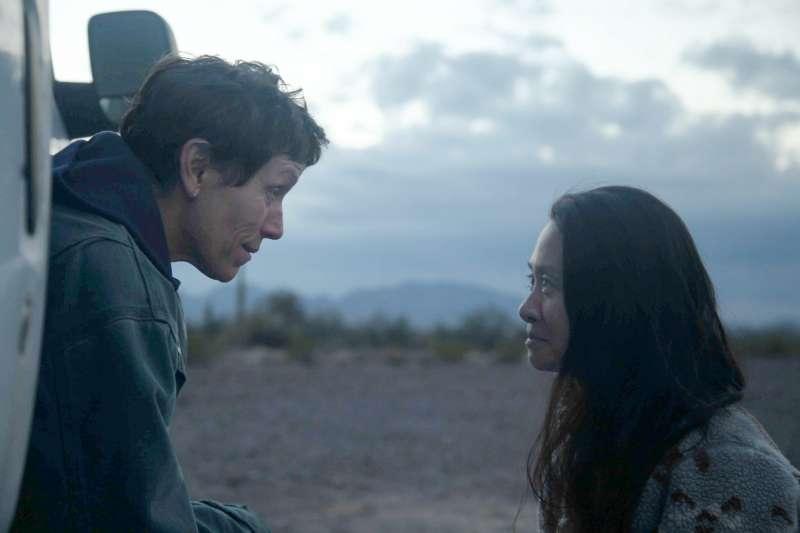 華人導演趙婷憑藉《遊牧人生》獲電影金像獎最佳導演獎。(AP)