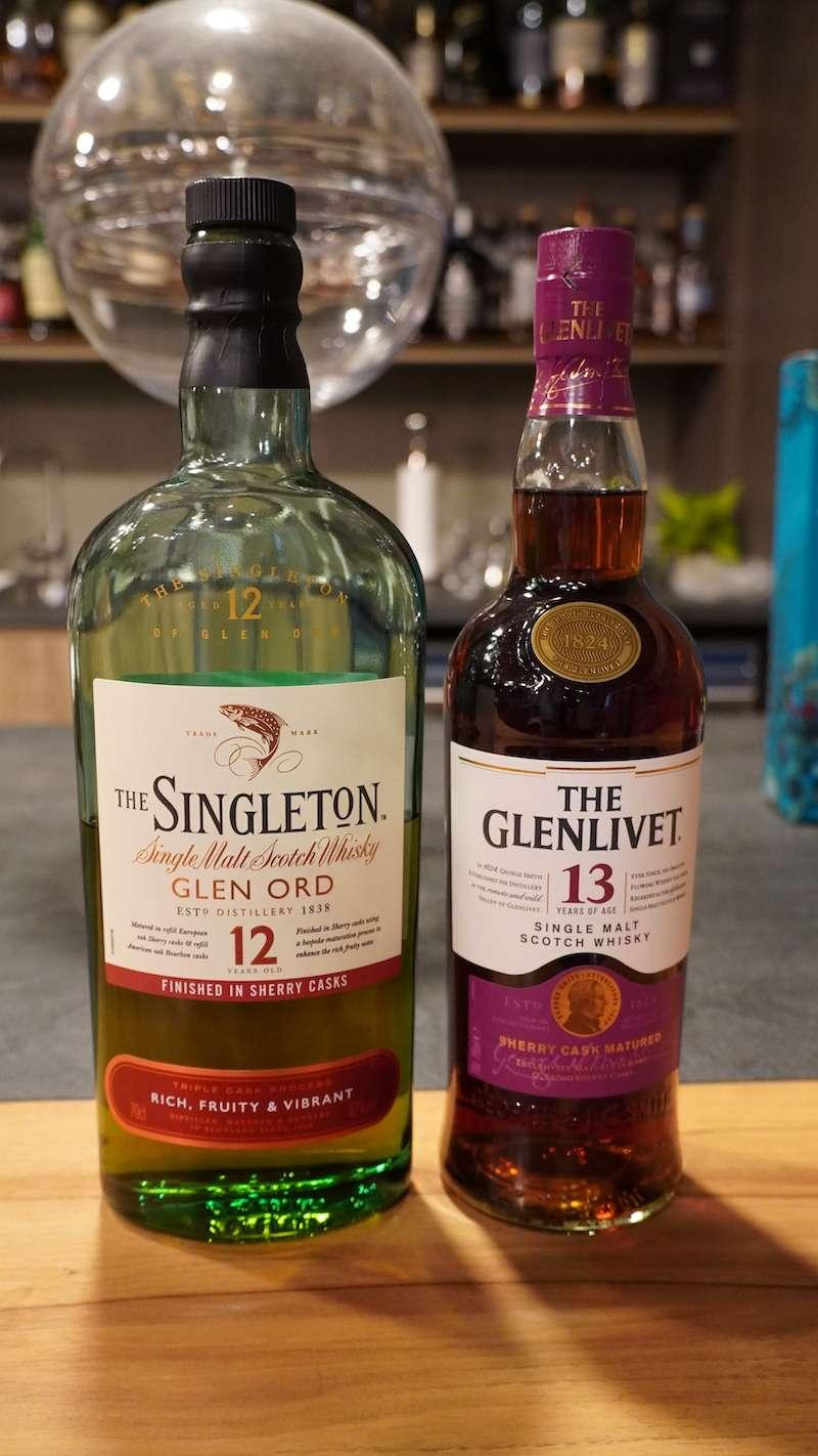 最近很紅的「格蘭利威13年」、「格蘭利威15年」、「蘇格登12年醇雪莉版」,都是所謂「Taiwan Exclusive」的專屬版本(圖 / 酒心智庫提供)