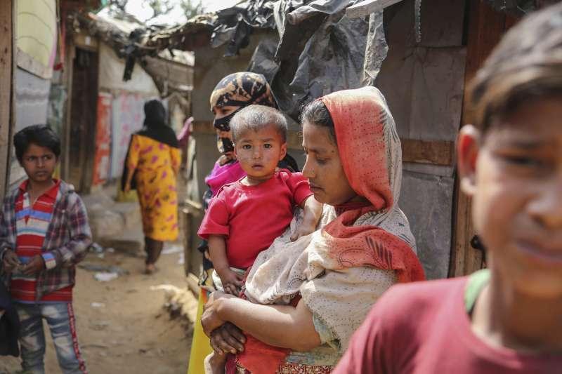 2021年3月,印度近日遣返一批羅興亞難民至緬甸。(AP)