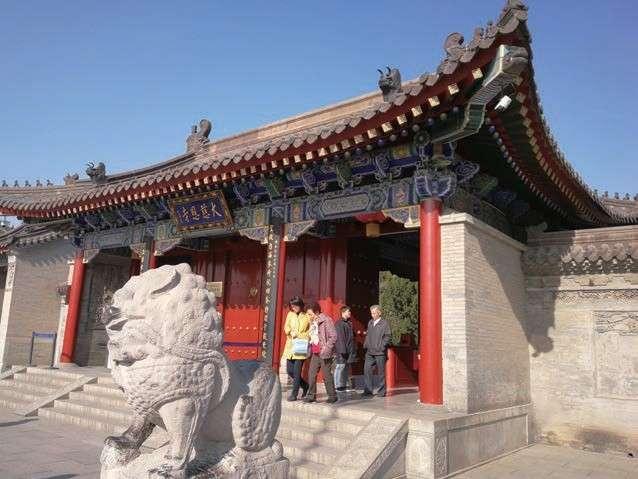 大慈恩寺位於今天的西安市城南,長安城裡最著名的佛寺,玄奘從印度(圖/時報出版提供)