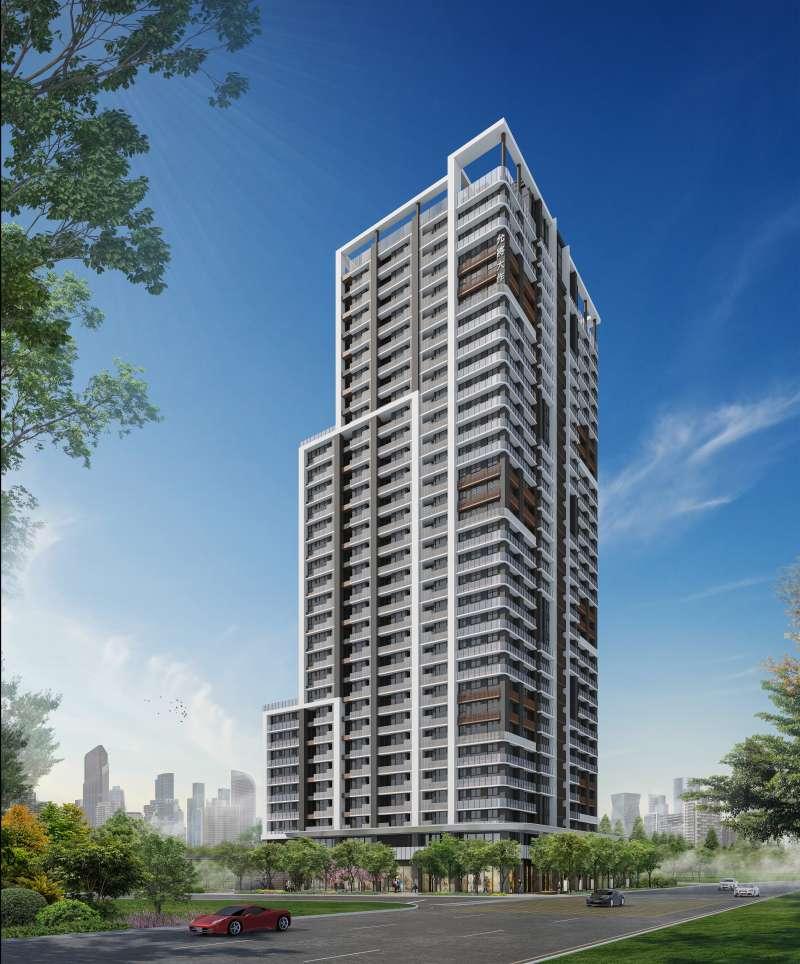 【允將大作】樓高31層A7核心地標。(圖/富比士地產王提供)