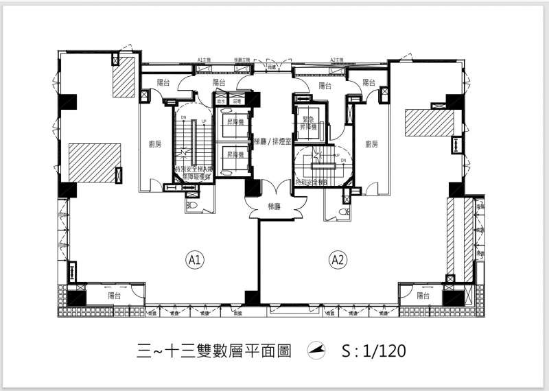 富邦醴仁格局圖 (檔案提供:富邦建設)