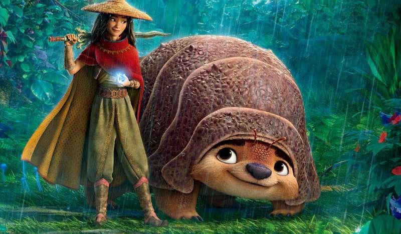 拉雅與她的顆伴Tuk Tuk。(圖/取自迪士尼影業粉專)