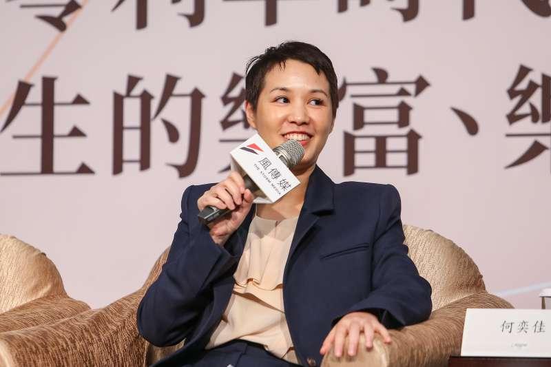 20210325-永豐餘生技總經理何奕佳25日出席風傳媒舉辦「好好退休論壇」。(顏麟宇攝)