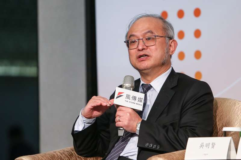20210325-台大醫院長吳明賢25日出席風傳媒舉辦「好好退休論壇」。(顏麟宇攝)