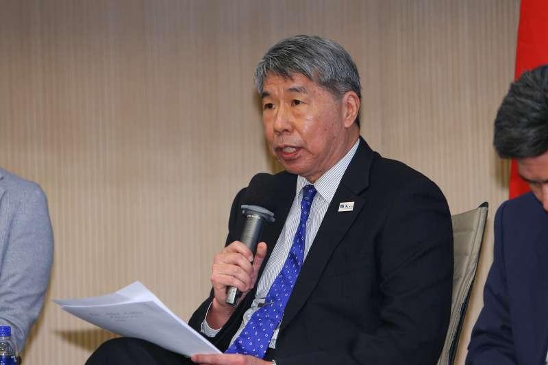 20210327-孫文學校總校長張亞中27日出席青雁基金會召開「護憲保台論壇」。(顏麟宇攝)