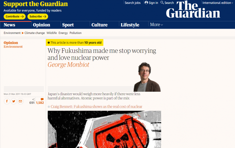 福島反而讓人更相信核能。(作者提供,衛報報導)