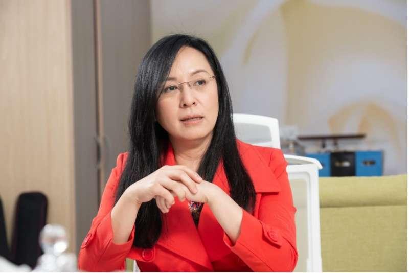 陳瑩表示自己是傾向支持衛福部的論述 (圖:風傳媒拍攝)