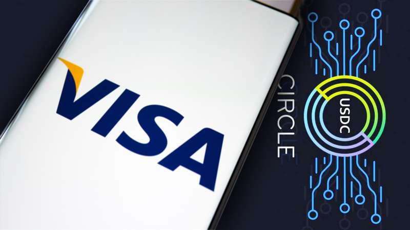 VISA信用卡提供USDC結算服務。(李可人提供)