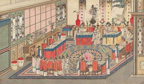 《紅樓夢》中,曹雪芹以細緻工筆描繪賈府興衰,與清宮檔案兩相對照,更能看懂奢華揮霍的起居用度。(圖/取自研之有物)